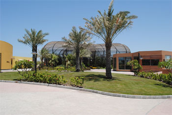 Birds Kingdom Outside View - Amwaj Islands